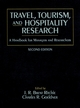 Travel, Tourism, and Hospitality Research: A Handbook for Managers and Researchers, 2nd Edition (0471582484) cover image