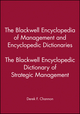 The Blackwell Encyclopedia of Management and Encyclopedic Dictionaries, The Blackwell Encyclopedic Dictionary of Strategic Management (0631210784) cover image
