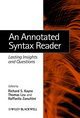 An Annotated Syntax Reader: Lasting Insights and Questions (0631235884) cover image