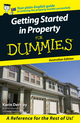 Getting Started in Property For Dummies, Australian Edition (0731408284) cover image