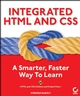 Integrated HTML and CSS: A Smarter, Faster Way to Learn (0782143784) cover image