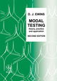 Modal Testing: Theory, Practice and Application, 2nd Edition (0863802184) cover image