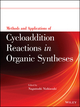 Methods and Applications of Cycloaddition Reactions in Organic Syntheses (1118299884) cover image