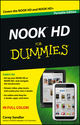 NOOK HD For Dummies, Portable Edition (1118394984) cover image