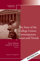 The State of the College Union: Contemporary Issues and Trends: New Directions for Student Services, Number 145 (1118878884) cover image