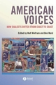 American Voices: How Dialects Differ from Coast to Coast (1405121084) cover image
