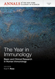 The Year in Immunology: Basic and Clinical Research in Human Immunology, Volume 1285 (1573318884) cover image