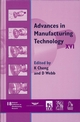 Advances in Manufacturing Technology XVI - NCMR 2002 (1860583784) cover image