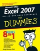 Excel 2007 All-In-One Desk Reference For Dummies (0470037385) cover image