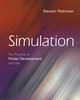 Simulation: The Practice of Model Development and Use (0470092785) cover image