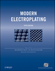 Modern Electroplating, 5th Edition (0470167785) cover image