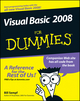 Visual Basic 2008 For Dummies (0470182385) cover image