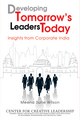 Developing Tomorrow's Leaders Today: Insights from Corporate India (0470825685) cover image