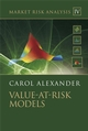 Market Risk Analysis, Volume IV, Value at Risk Models (0470997885) cover image
