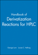 Handbook of Derivatization Reactions for HPLC (0471164585) cover image