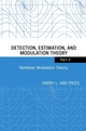 Detection, Estimation, and Modulation Theory, Part II: Nonlinear Modulation Theory (0471446785) cover image