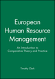 European Human Resource Management: An Introduction to Comparative Theory and Practice (0631193685) cover image