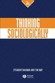 Thinking Sociologically, 2nd Edition (0631219285) cover image