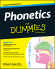 Phonetics For Dummies (1118505085) cover image