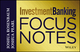 Investment Banking Focus Notes (1118586085) cover image
