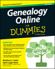 Genealogy Online For Dummies, 7th Edition (1118808185) cover image