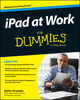 iPad at Work For Dummies (1118949285) cover image