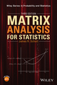 Matrix Analysis for Statistics, Third Edition (1119092485) cover image