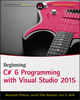 Beginning C# 6 Programming with Visual Studio 2015 (1119096685) cover image
