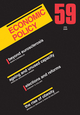 Economic Policy 59 (1405189185) cover image