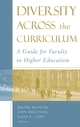 Diversity Across the Curriculum: A Guide for Faculty in Higher Education (1933371285) cover image