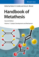 Handbook of Metathesis, Volume 1: Catalyst Development and Mechanism, 2nd Edition (3527339485) cover image