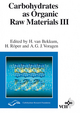 Carbohydrates as Organic Raw Materials III (3527614885) cover image
