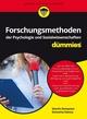 Forschungsmethoden der Psychologie und Sozialwissenschaften für Dummies (3527805885) cover image
