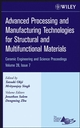 Advanced Processing and Manufacturing Technologies for Structural and Multifunctional Materials, Volume 28, Issue 7 (0470196386) cover image