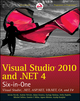 Visual Studio 2010 and .NET 4 Six-in-One (0470499486) cover image