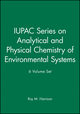 IUPAC Series on Analytical and Physical Chemistry of Environmental Systems 6 Volume Set (0470779586) cover image