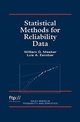 Statistical Methods for Reliability Data (0471143286) cover image