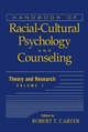 Handbook of Racial-Cultural Psychology and Counseling, Volume One, Theory and Research (0471386286) cover image