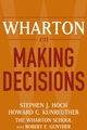 Wharton on Making Decisions (0471689386) cover image
