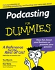 Podcasting For Dummies (0471748986) cover image