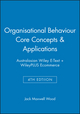 Organisational Behaviour Core Concepts & Applications 4e Australasian Wiley E-Text + WileyPLUS Ecommerce (0730332586) cover image