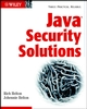 Java Security Solutions (0764549286) cover image