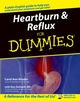 Heartburn and Reflux For Dummies (0764556886) cover image
