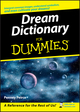 Dream Dictionary For Dummies (1118068386) cover image