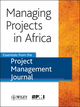 Managing Projects in Africa: Essentials from the Project Management Journal (1118586786) cover image