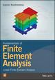 Fundamentals of Finite Element Analysis: Linear Finite Element Analysis (1119260086) cover image