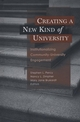 Creating a New Kind of University: Institutionalizing Community-University Engagement (1882982886) cover image
