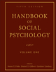 Handbook of Social Psychology, 5th Edition, Volume One (0470137487) cover image