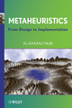 Metaheuristics: From Design to Implementation  (0470278587) cover image