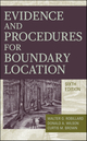Evidence and Procedures for Boundary Location, 6th Edition (0470404787) cover image